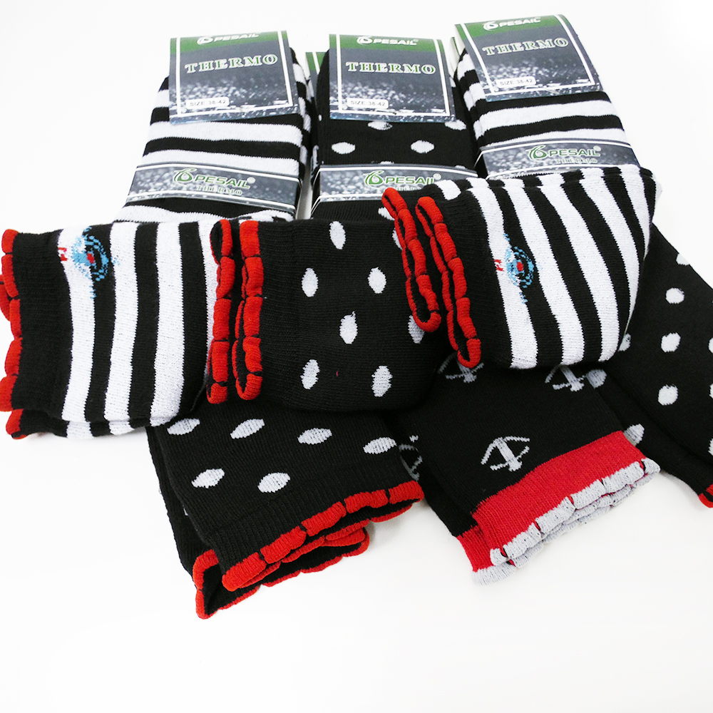1a955bb5a14 6 párů zdravotní funkční termo ponožky vysoké dámské 35-38 bavlna