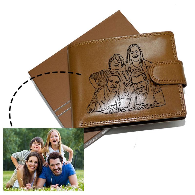 Luxusní peněženky s vaší fotkou