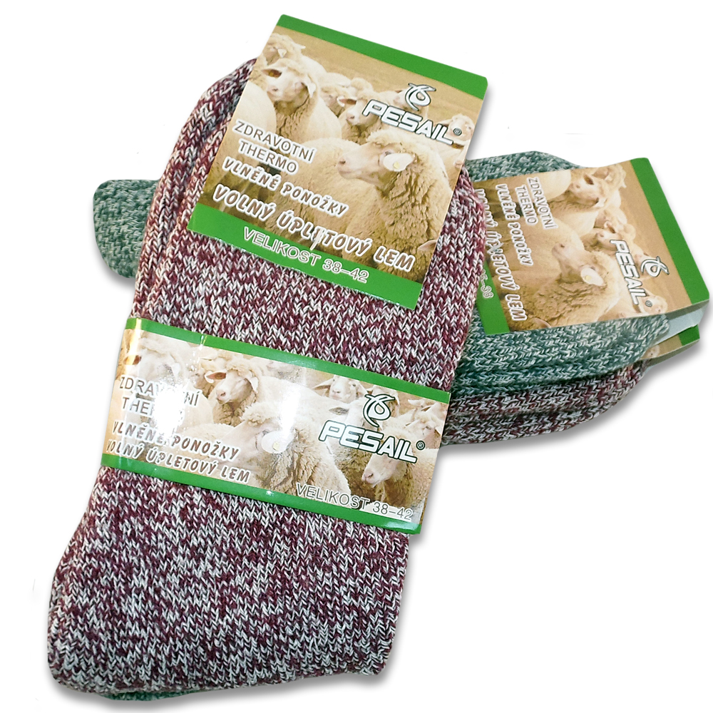 6a68b10a0fd AKCE - Balení hřejivých ponožek z ovčí vlny