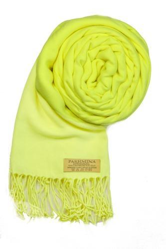 Pašmínová šála varianta 61 žlutá ca97fe3941