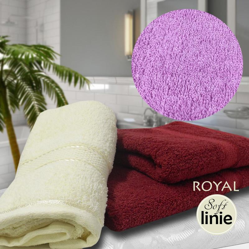Royal Soft Linie Extra kvalitní froté ručník fialový 50x100 24b5b419f9