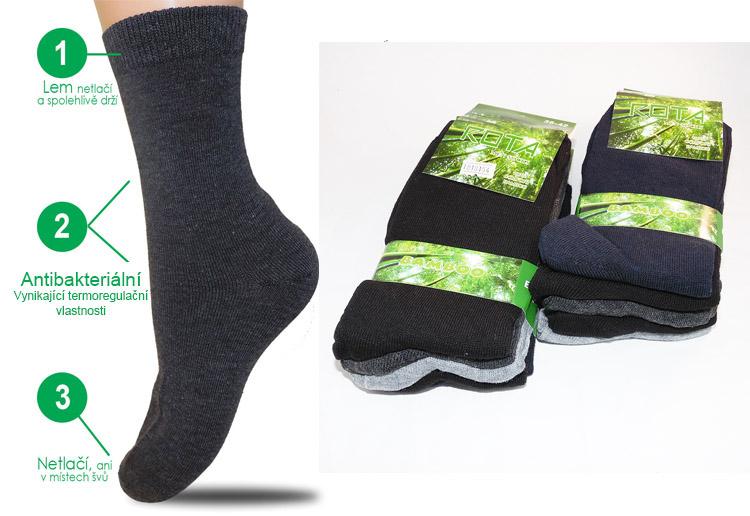 5efd4647322 AKCE - Bambusové ponožky výprodej skladu nejlevněji v ČR