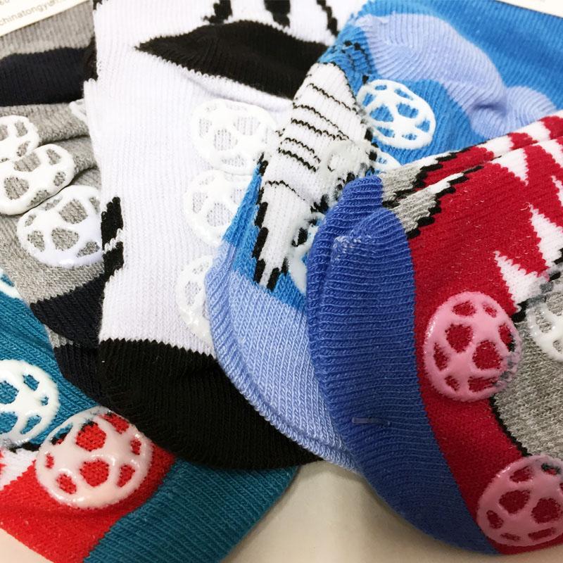 ff83552f6a8 Dětské bavlněné protiskluzové ponožky s krokodýlem 5 párů 19-22