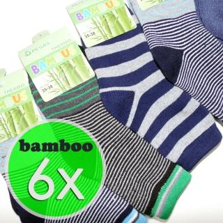 3bd4e908c3c 6 párů dětské bambusové termo ponožky mix barev 31-34 (bamboo 85%)
